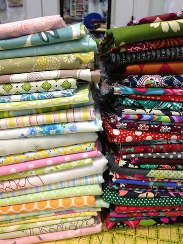 Fractured quilt fabrics 1