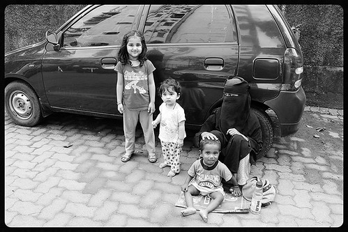 My Grand Kids ..Saw Life Of The Muslim Beggars ,, Before They Began Shooting Them by firoze shakir photographerno1