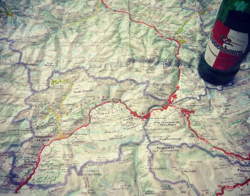 Did you know this small country ANDORRA in the middle of Pyrénées between France and Spain? I didn't know that! So I'm going to check it out tomorrow! Riding through from this bottle of beer taking N22+CG2 to the Southwest. Let's see. アンドラってゆう小さな国がピレネーど真ん