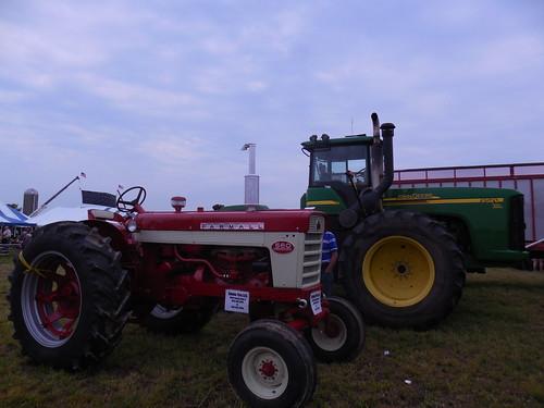 farmall 560 & a john deere 9520