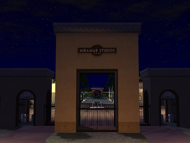 Miramar Studios Europe by Night