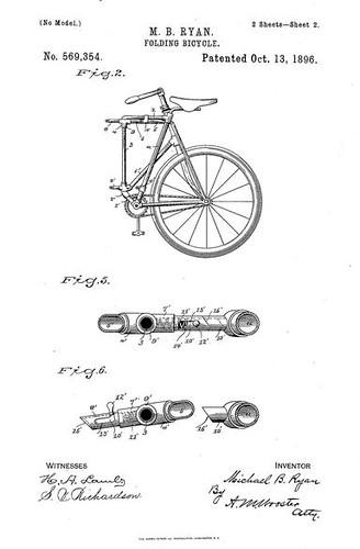 Folding Bike Patent 1896 (p2)