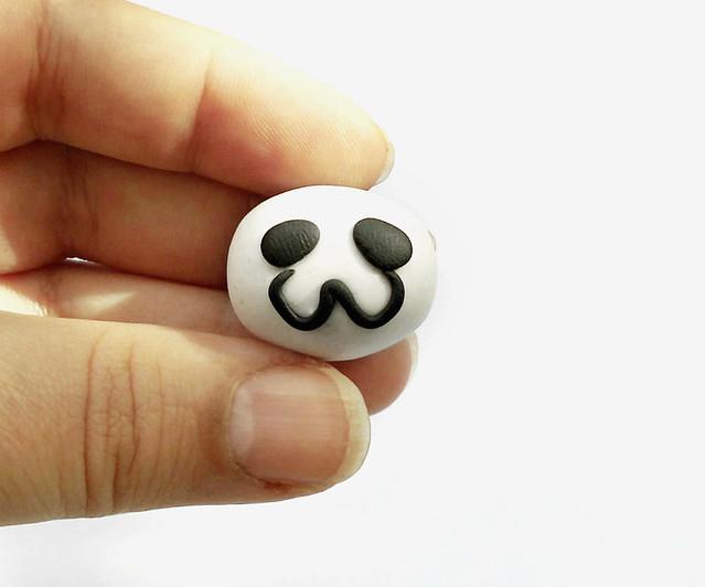 Panda fimo tutorial 10
