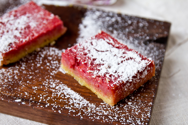Orange and Cranberry Curd Squares