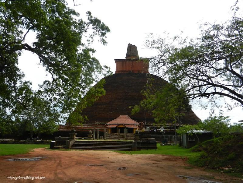 Анурадхапура - первая столица Шри Ланки