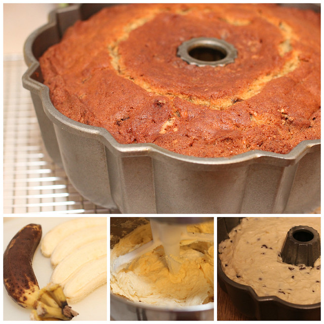 Banana Chocolate Chip Bundt
