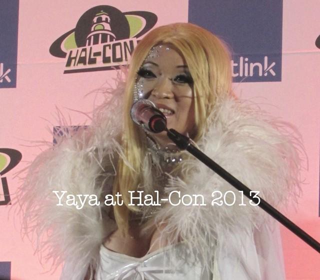 Yaya Han's Q&A at Hal-Con 2013