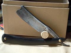 automotive exterior(0.0), bumper(0.0), weapon(1.0), tool(1.0), knife(1.0), razor(1.0), blade(1.0),