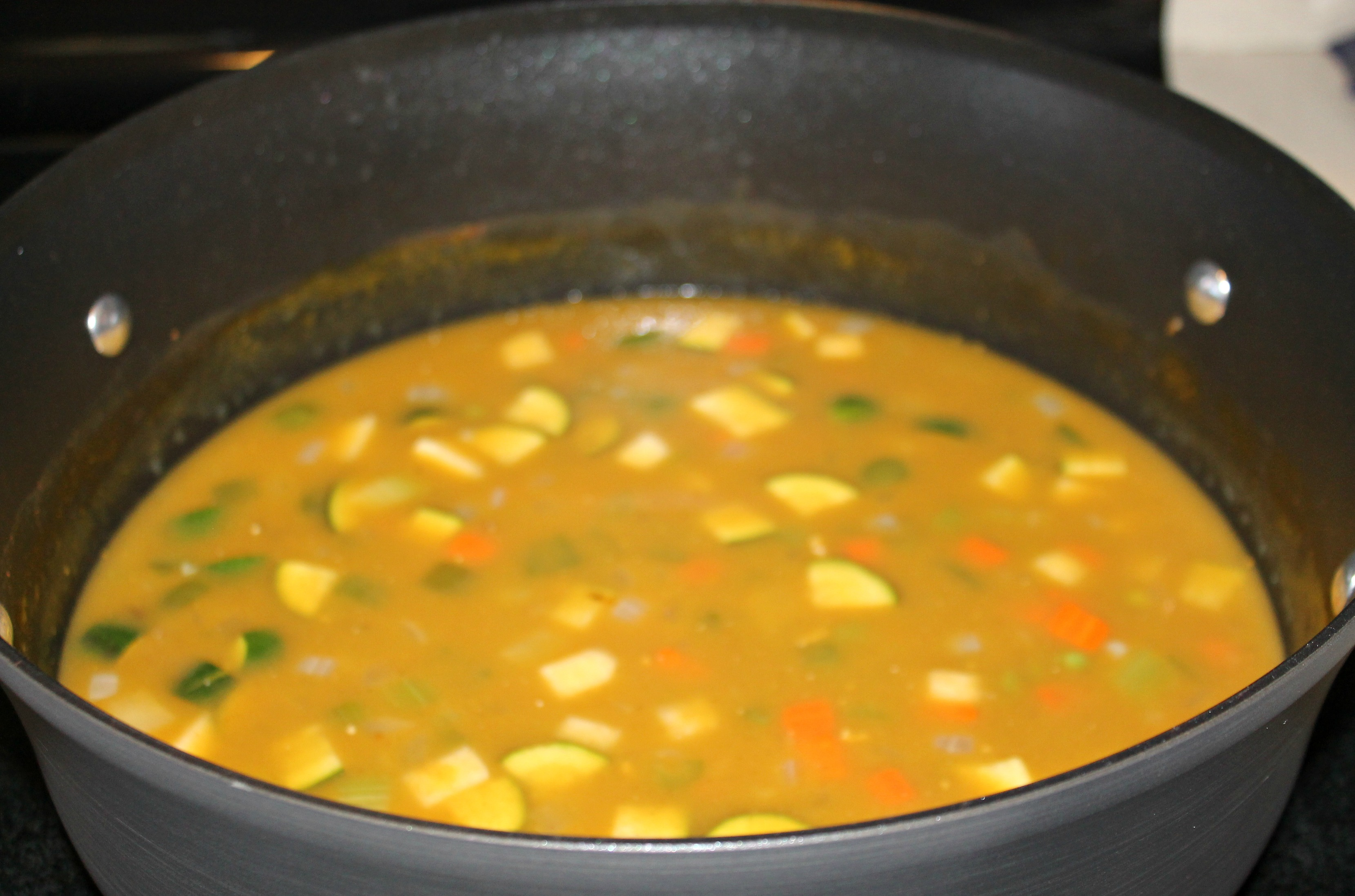 Sweet Pot Soup - Cooked Soup