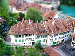 Tilt Shift - Bern roofs