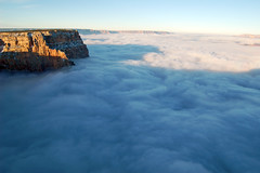 Grand Canyon National Park Cloud Inversion from Desert View: November 29, 2013 photo 0788