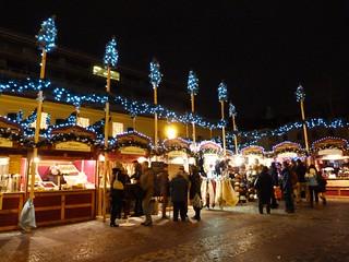 Mercadillo de Navidad en la Plaza de la República de Praga