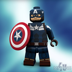 Captain America Stealth Suit - LEGO Super Heroes