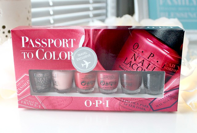 OPI Passport to Color Review