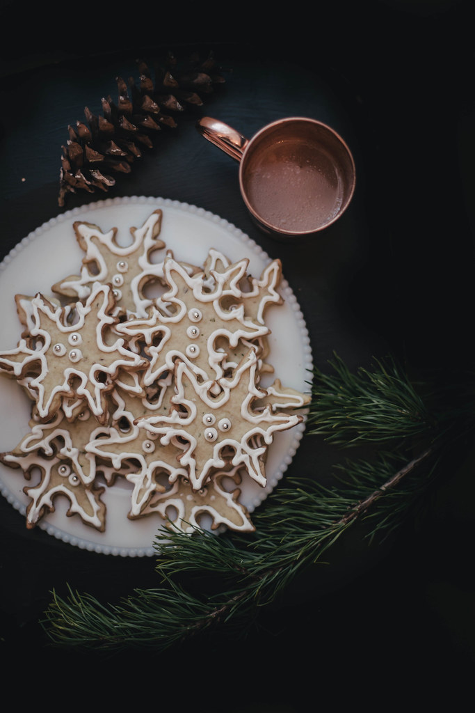 Fennel Rosemary Snowflakes