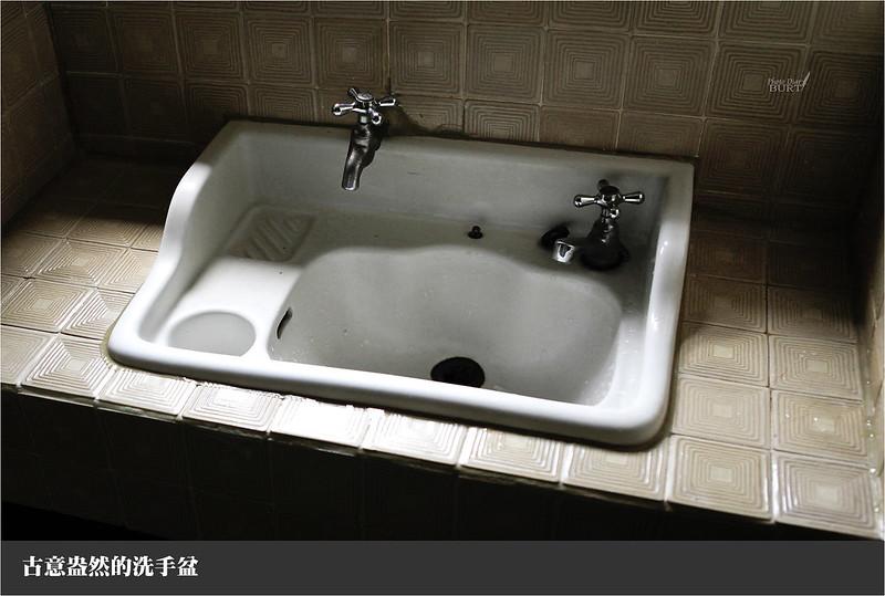 古意盎然的洗手盆