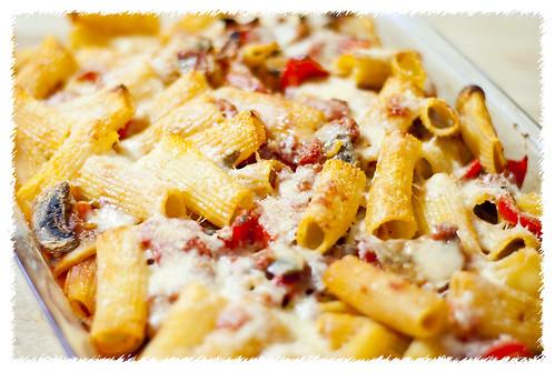 Prosciutto and Eggplant Rigatoni Bake | PS I Love To Cook | PS I Love ...