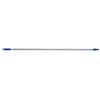 Oates 1.5 Duraclean Aluminum Handle with Colour 22mm Threaded Adaptor Blue SHANDB11532B
