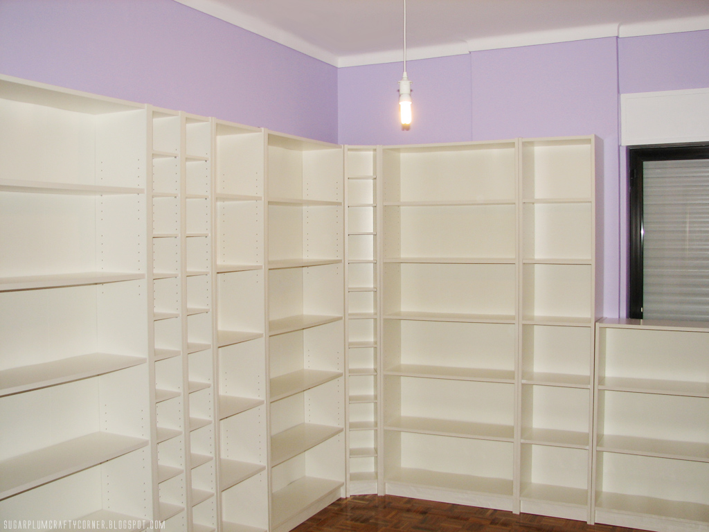 Craft Room Furniture: IKEA Billy Bookcases