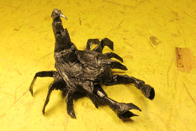 Scorpion Tadashi Mori By Gross Michael On Flickr I Tried Varnishing The Model After It Was Done But Dont Like How Looks