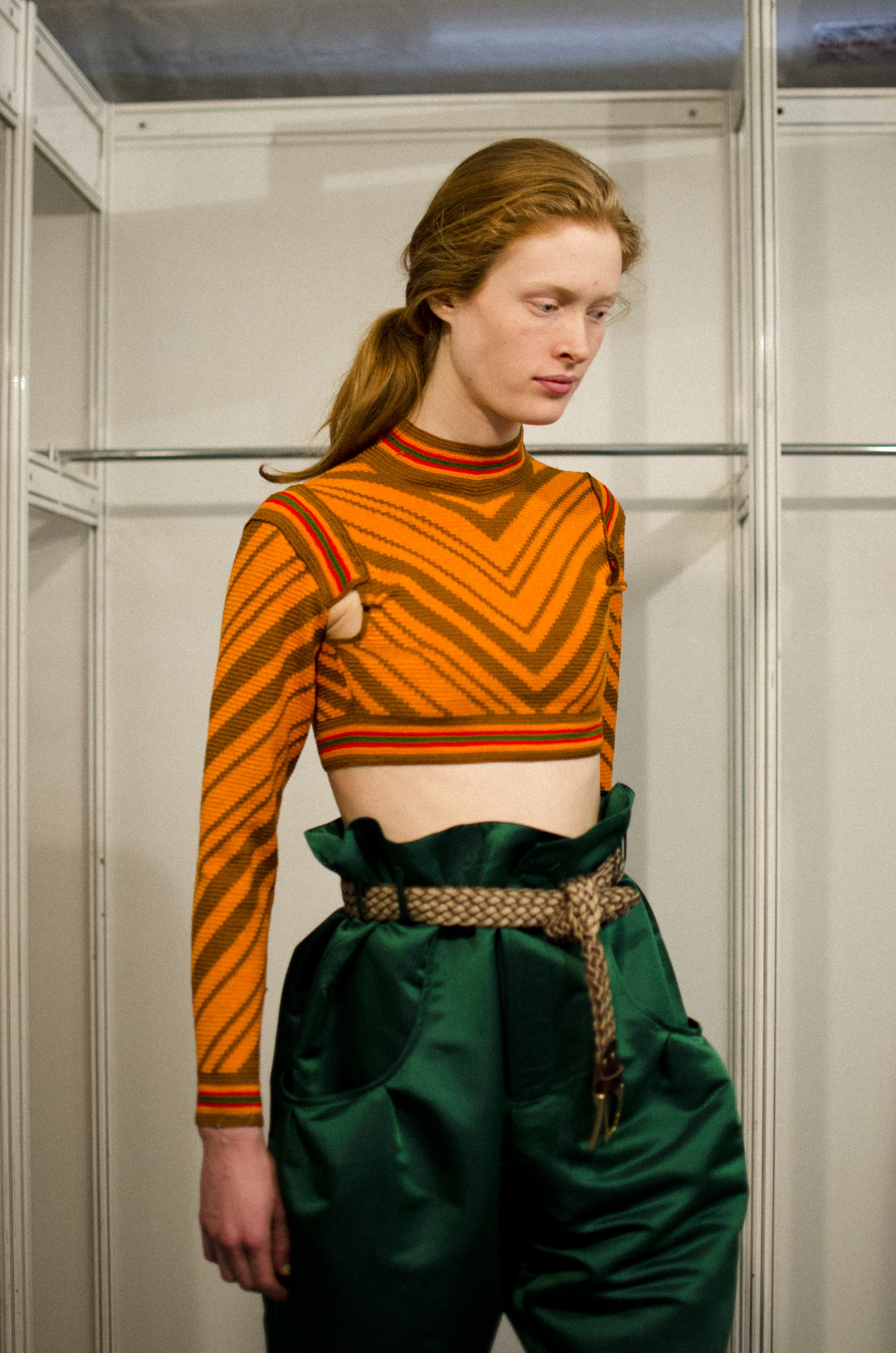 Manuel Bolaño fall winter 2015 fitting