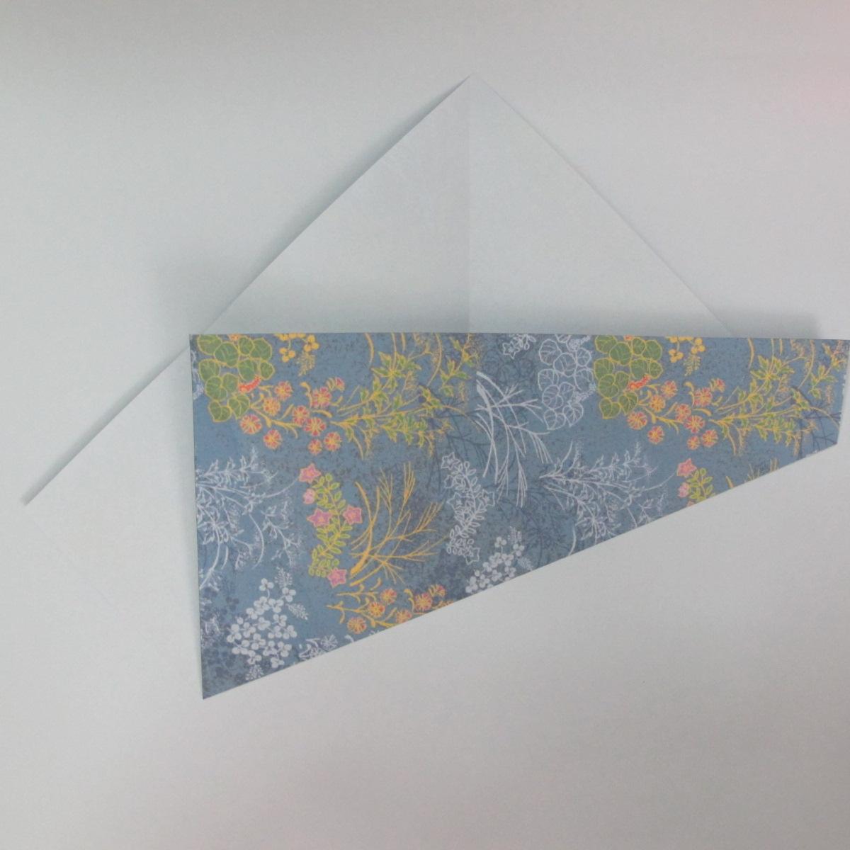 วิธีการพับกระดาษเป็นรูปม้า (Origami Horse) 005