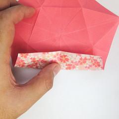 สอนวิธีการพับกระดาษเป็นดอกมะเฟือง (Origami Carambola) 015