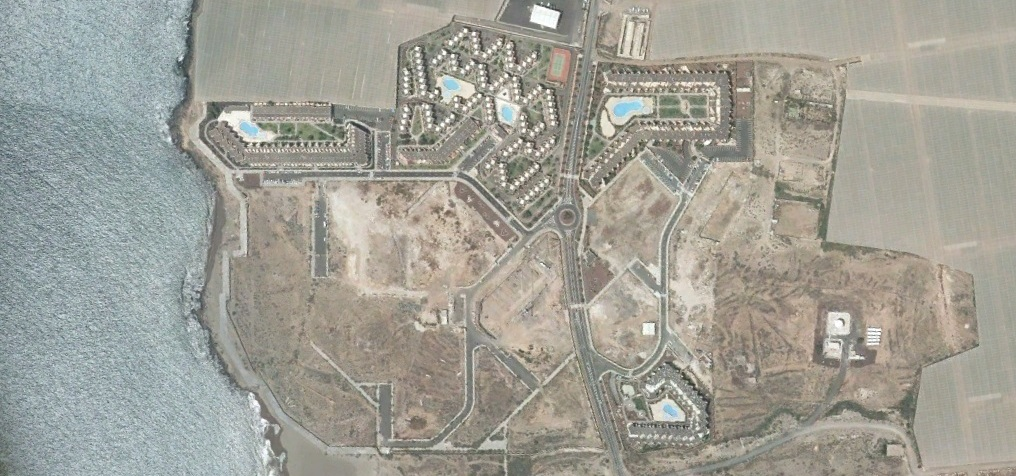 después, urbanismo, foto aérea,desastre, urbanístico, planeamiento, urbano, construcción,La Tejita, Tenerife, Santa Cruz de Tenerife