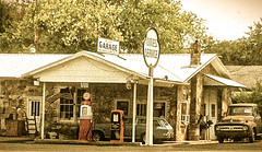 old cities service gas station