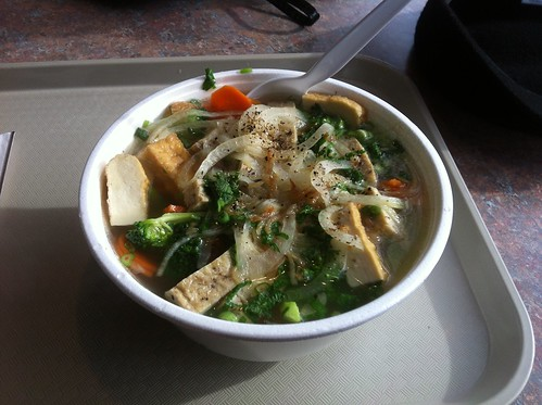 Tofu Noodle Soup by raise my voice