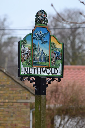 Methwold Village sign