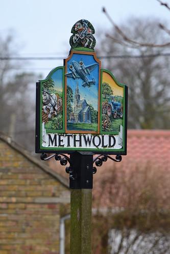 Methwold Village sign