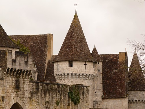 Castillo de Bridoire (Ribagnac, Périgord)