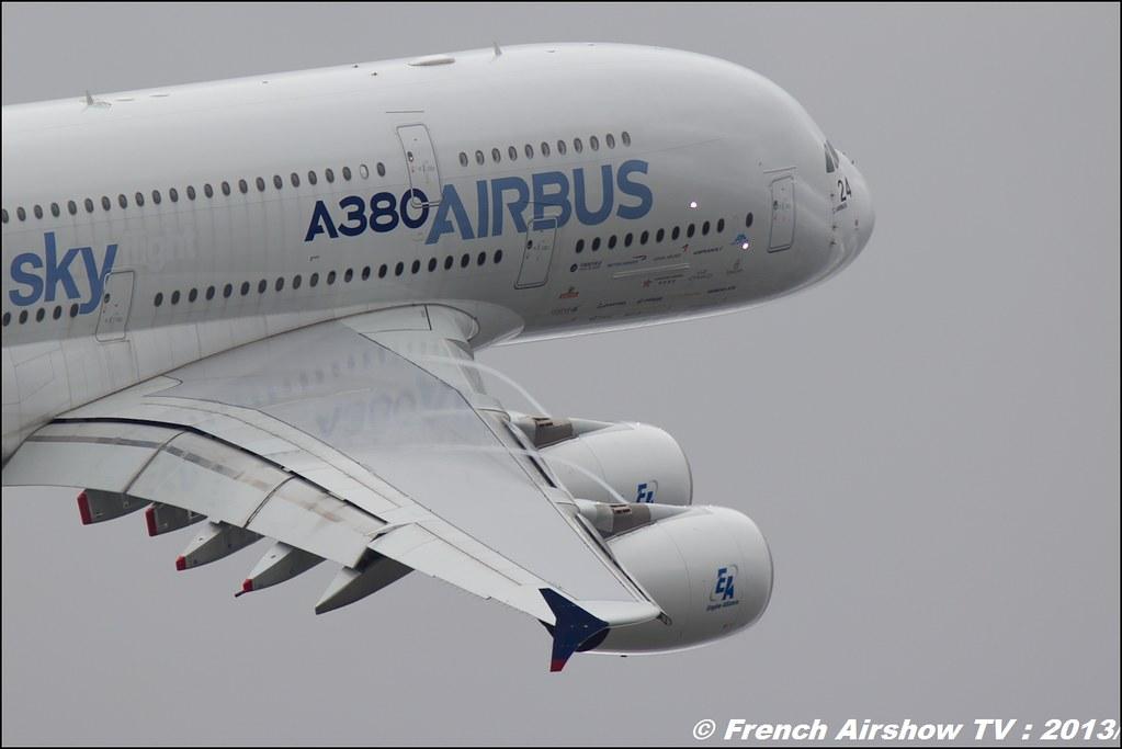 A-380 ,Salon du Bourget 2013,Paris Airshow 2013