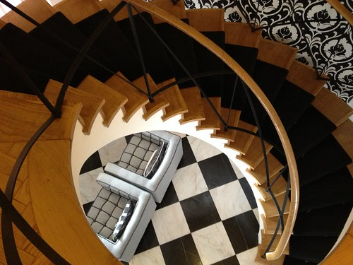 Visiting Lisbon, Portugal - where to stay? The House B&B! Check out this amazing staircase