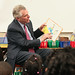 Governor McAuliffe Participates in 'Read Across America' at Woodville Elementary School , Richmond - February 28, 2014
