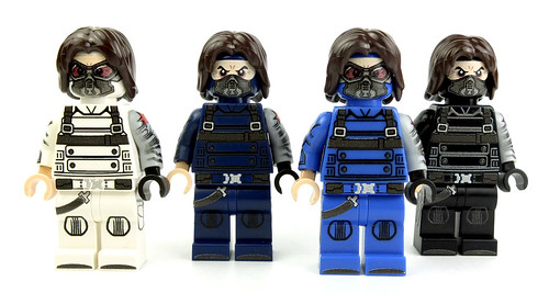 Winter Soldier team by LaPetiteBrique.com