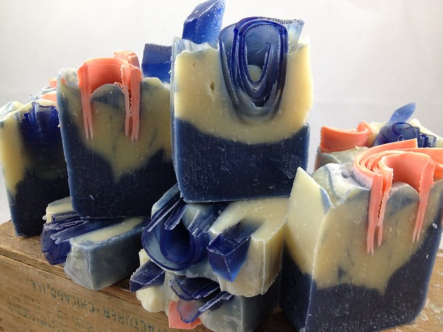 Blueberry Mini Soap Bars by The Daily Scrub