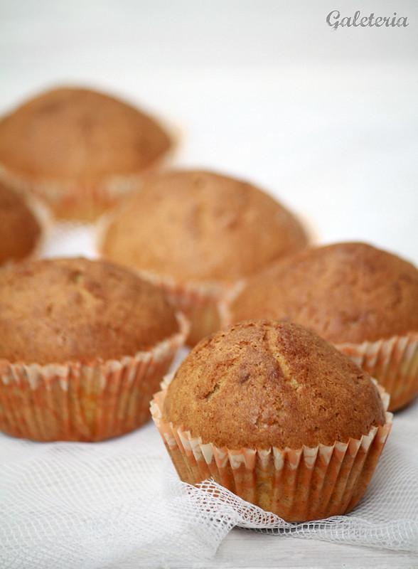 muffins de zanahoria y aceite de oliva