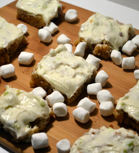 st. patrick's day blondies