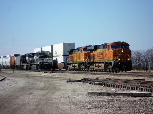 BNSF 7855 East