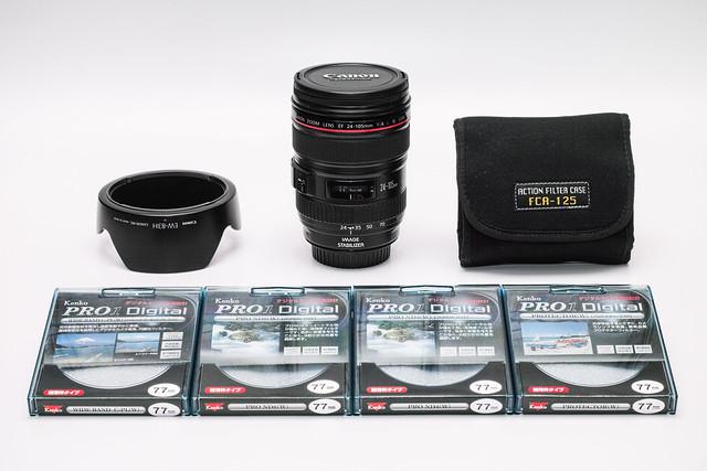 20140317_02_【売ります!】CANON EF24-105mm F4L IS USM_70000円(送料別)