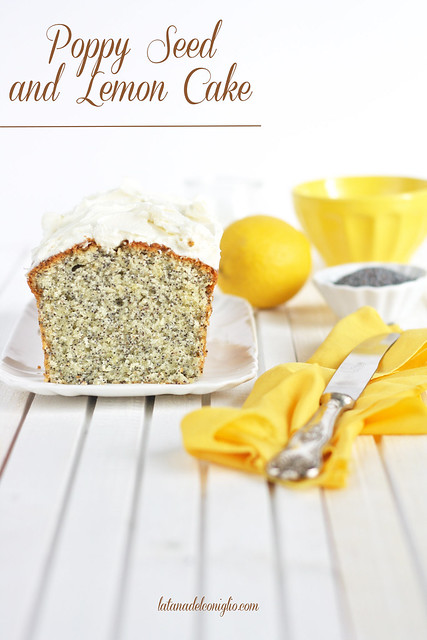 Poppy Seed and Lemon Cake
