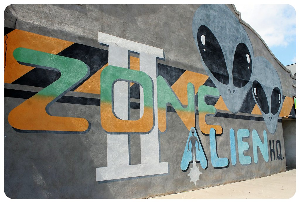 roswell new mexico alien zone hq