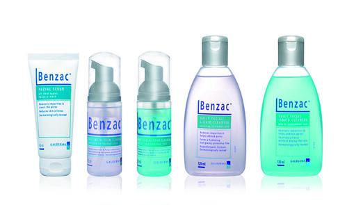 Benzac Skin Care Line