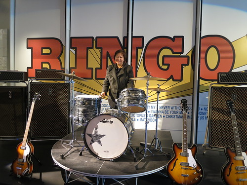 IMG_7549: Ringo Starr Exhibit at the Grammy Museum, Los Angeles, California