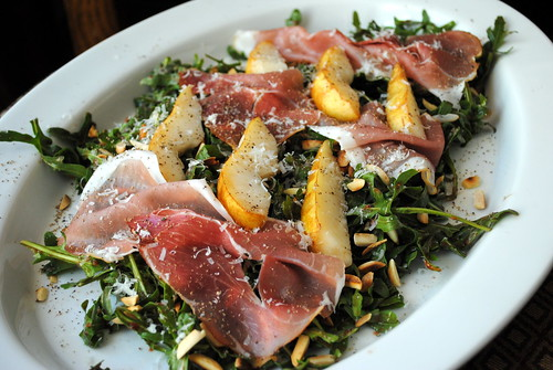 Pear, Parmesan & Prosciutto Salad with Strawberry Balsamic Dressing ...