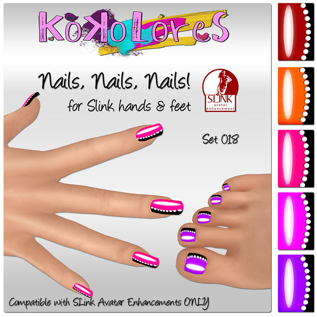 [KoKoLoReS]Nails, Nails, Nails! Set 018