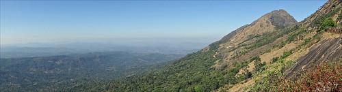 panorama kerala inde ghats dalbera