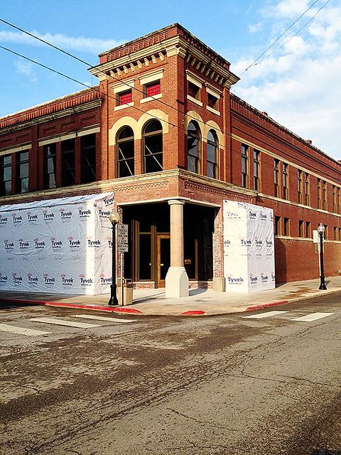 Building April 10